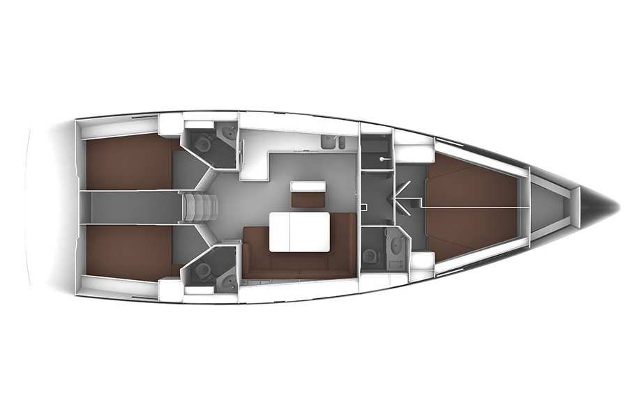 Bavaria 46c layout